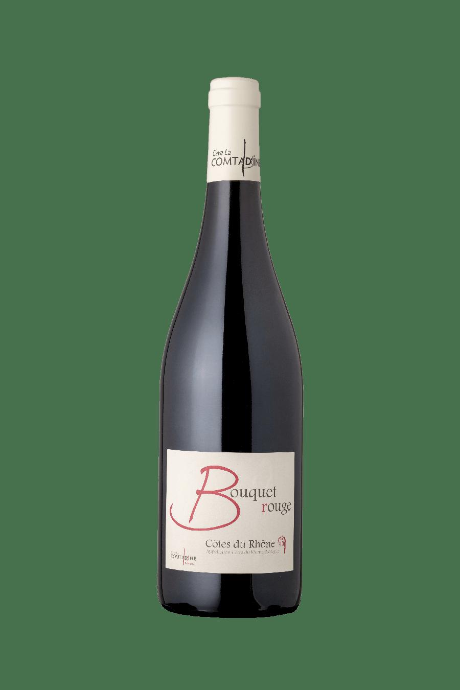 Bouteille vin rouge Bouquet