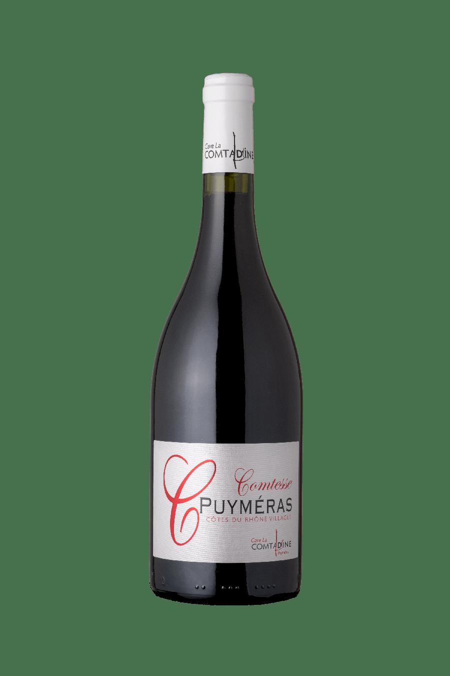 Bouteille vin rouge Comtesse