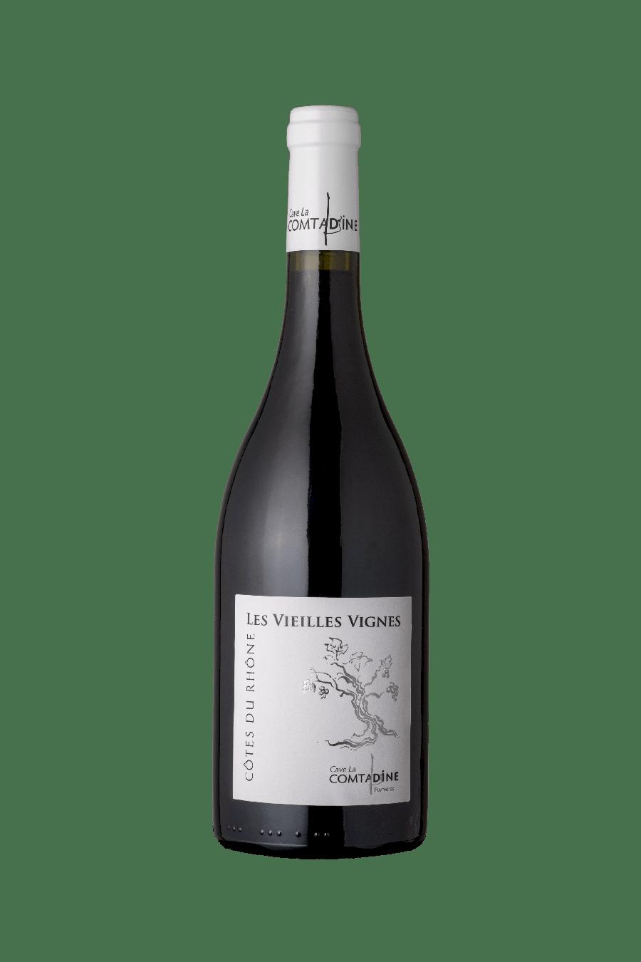 Bouteille vin rouge Vieille vigne