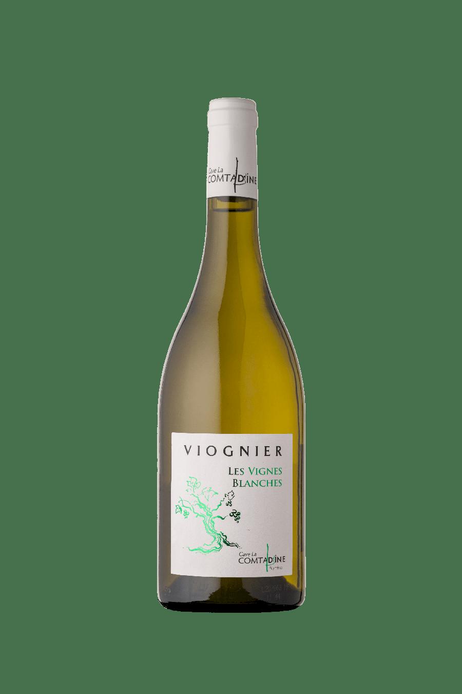 Bouteille vin blanc Vignes Blanches