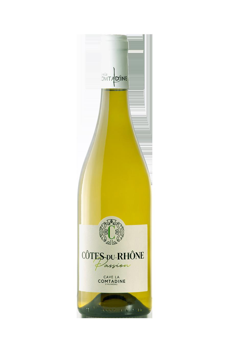 Bouteille vin blanc Passion Blanc
