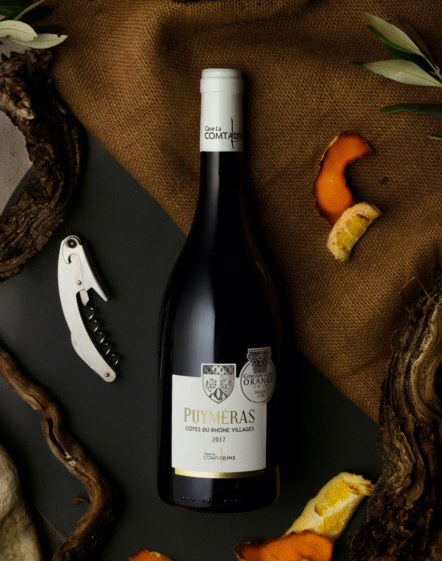vin Puyméras Comtadine