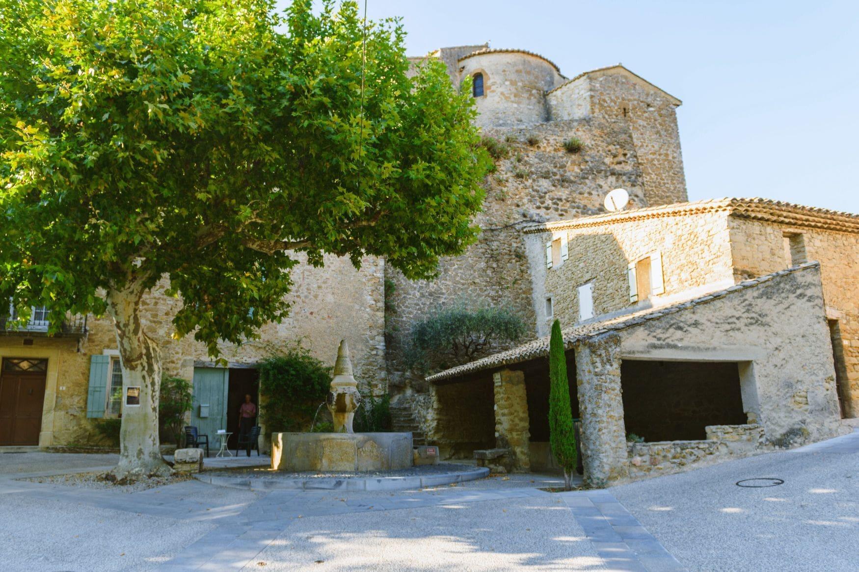 Photo place village Puyméras